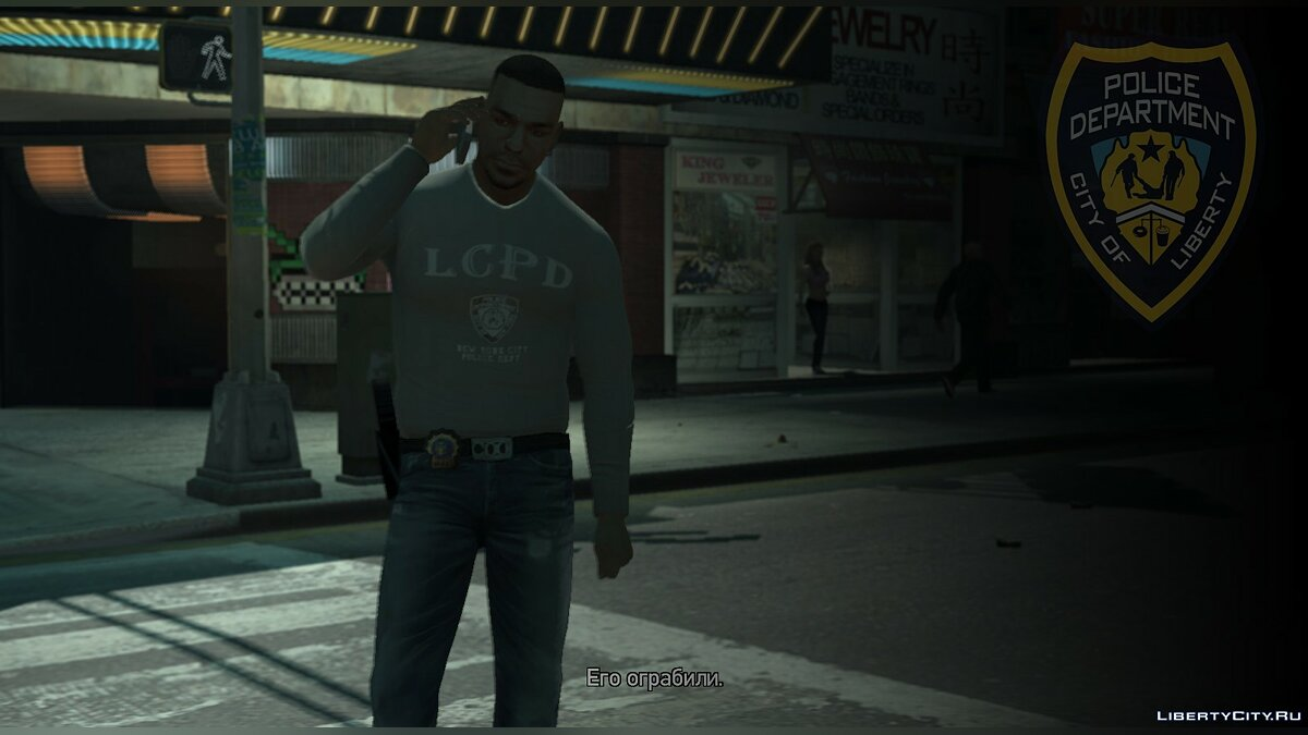 Clothes Luis Detective LCPD v1 for GTA 4