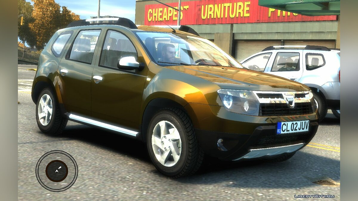 Dacia car Dacia Duster 2010 SUV 4x4 for GTA 4