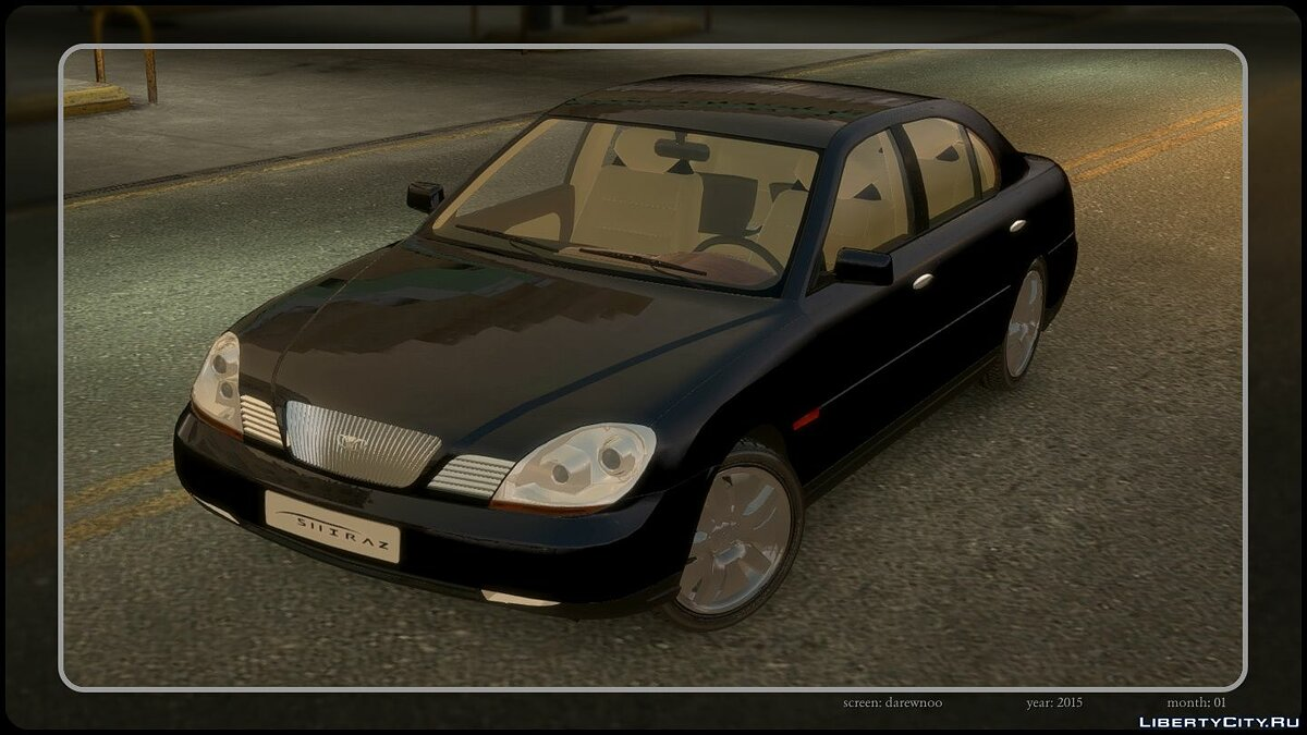 Daewoo car Daewoo Shiraz Concept 1997 for GTA 4