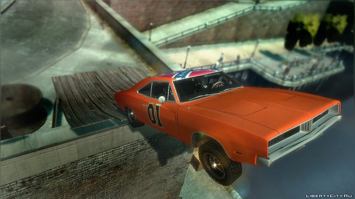 "1969 Dodge Charger ""General Lee"" for GTA 4 - Картинка #1"