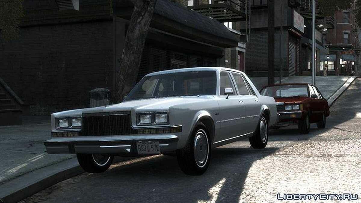 Dodge car 1983 Dodge Diplomat for GTA 4