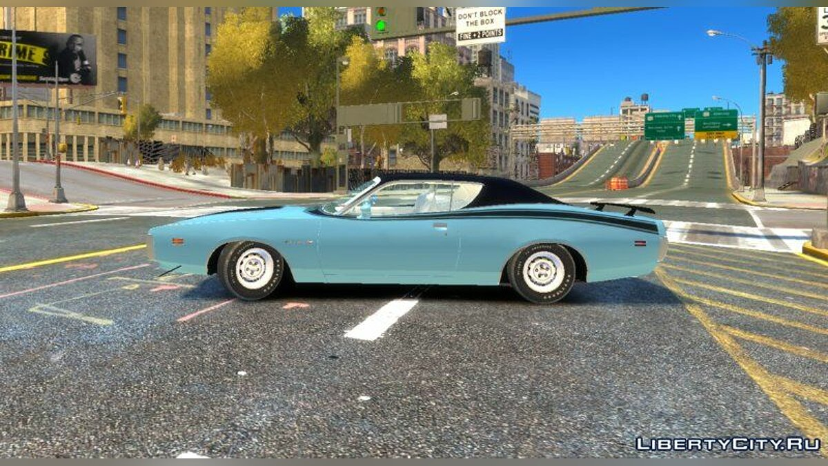 Dodge car Dodge Charger 1971 Super Bee for GTA 4