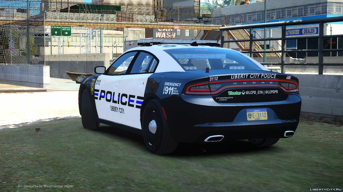 Dodge car 2015 Dodge Charger PPV LCPD for GTA 4