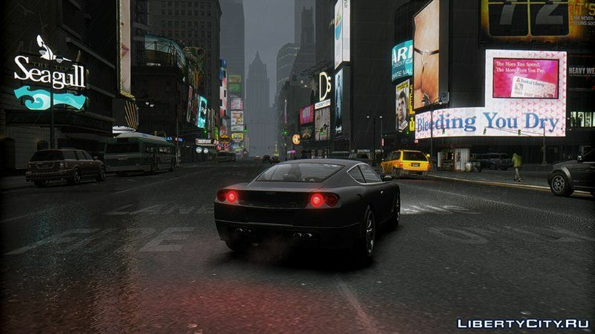 ENB mod Cinematic IVisuals Super Edition for GTA 4