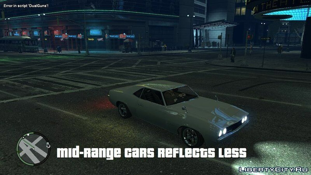 ENB mod Increase Relfection Quality with ENB (v.2) for GTA 4