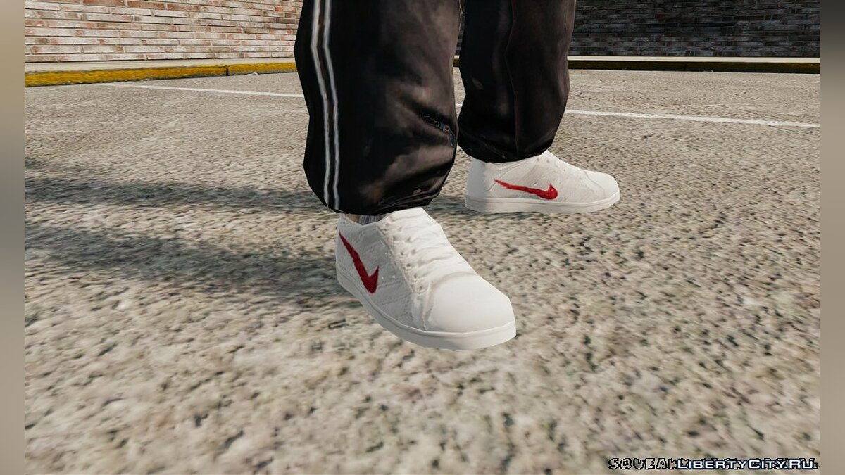 Boots and gloves Sneakers Nike Classics for GTA 4 for GTA 4
