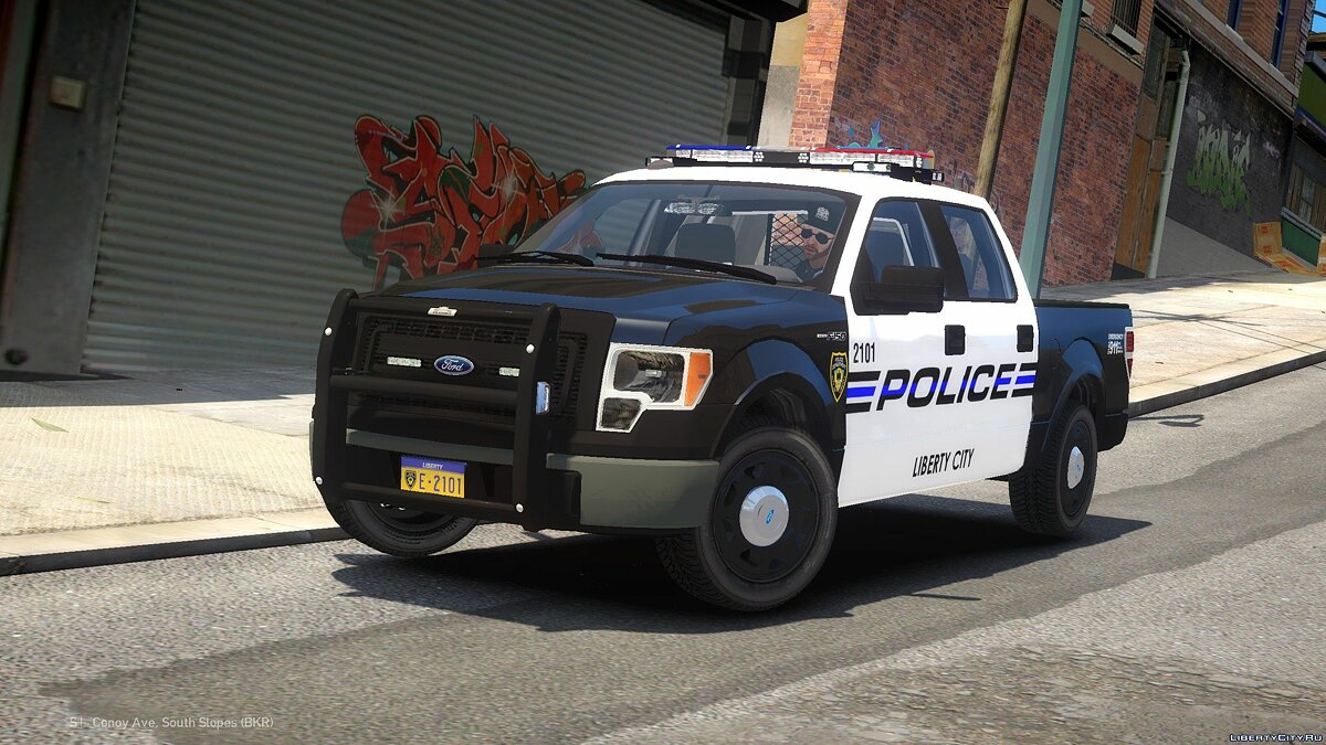 Ford car 2013 Ford F-150 LCPD for GTA 4