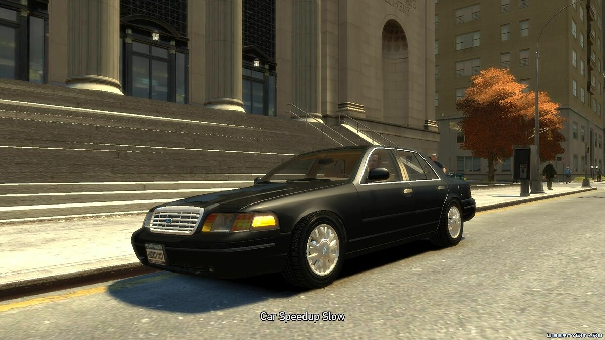 Ford car Ford Crown Victoria 2003 for GTA 4