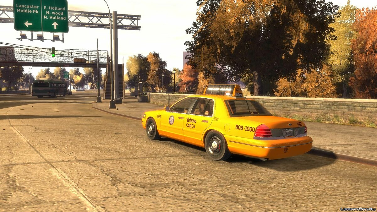 Ford car Ford Crown Victoria 2003 Taxi for GTA 4