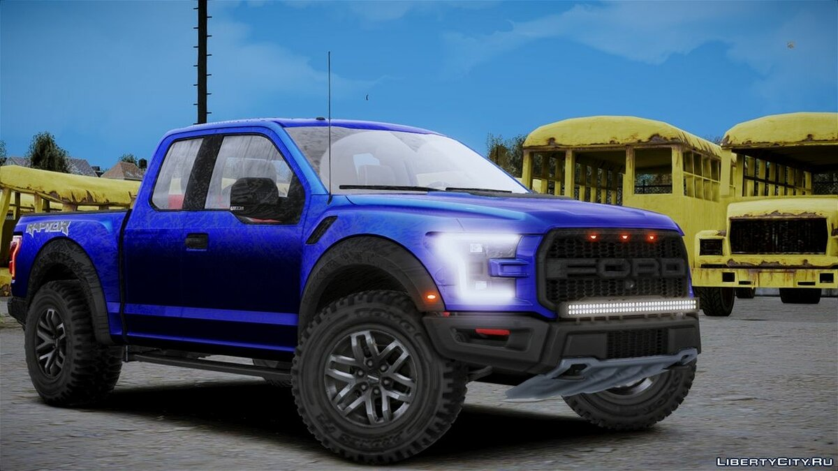 Ford car Ford Raptor for GTA 4