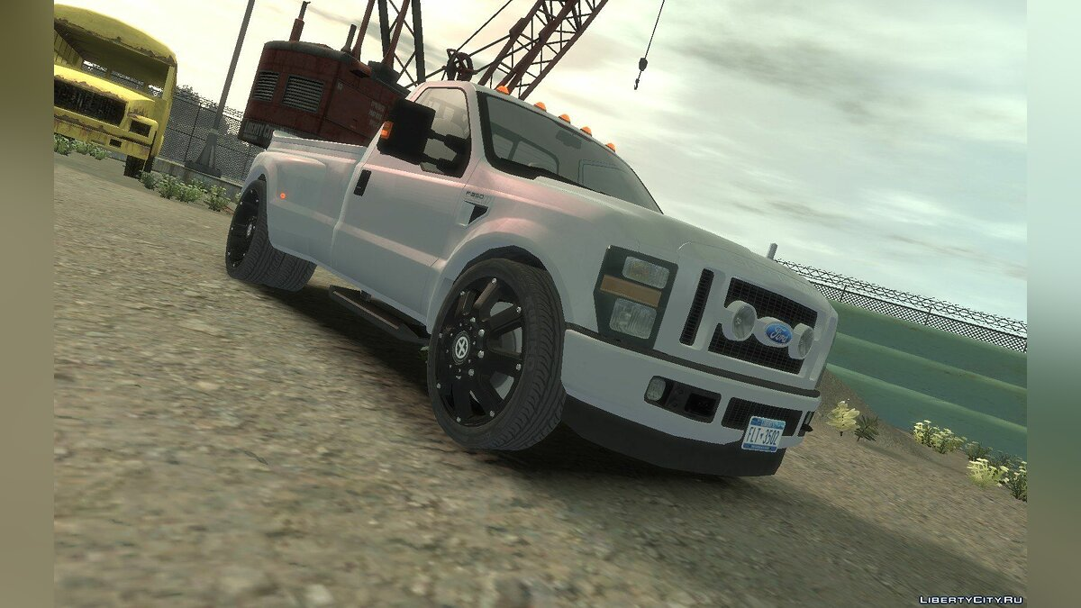 Ford car Ford F-350 Pitbull for GTA 4