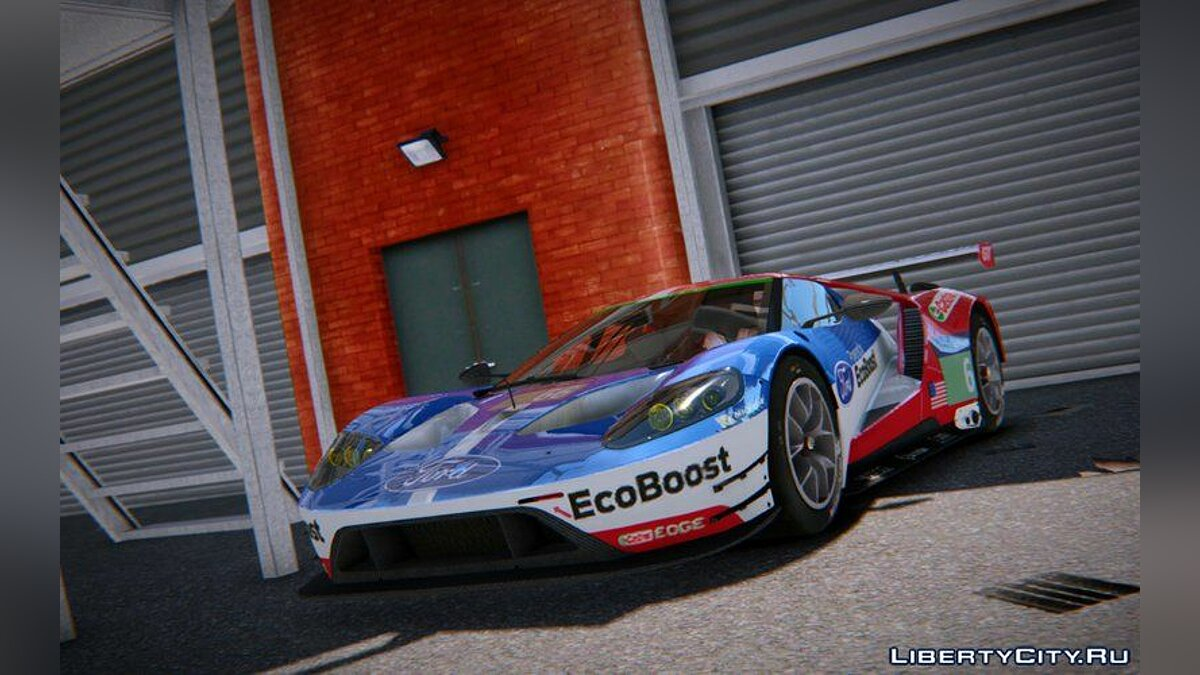Ford car 2016 Ford GT LM for GTA 4