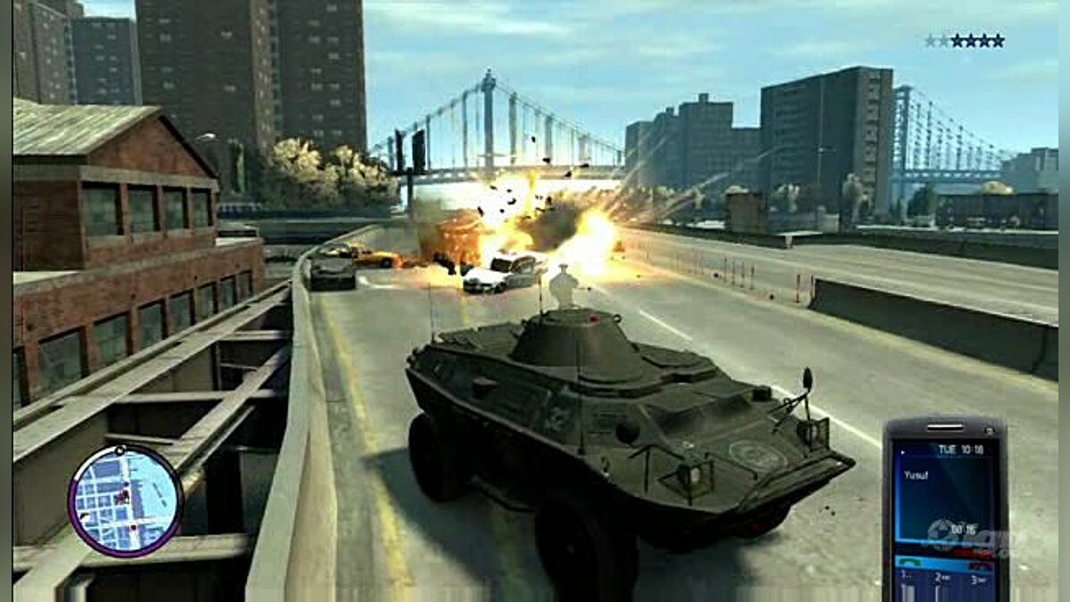 Gameplay video Video IGN - Steal a Tank for GTA 4