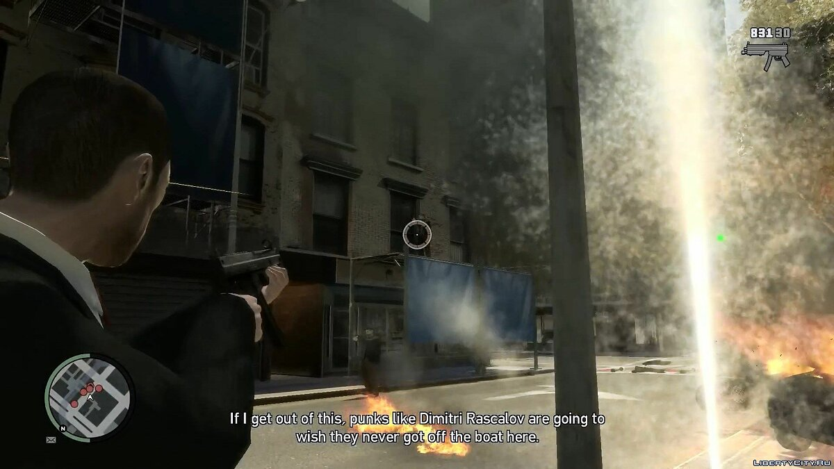 Gameplay video Entourage (All Possibilities) for GTA 4