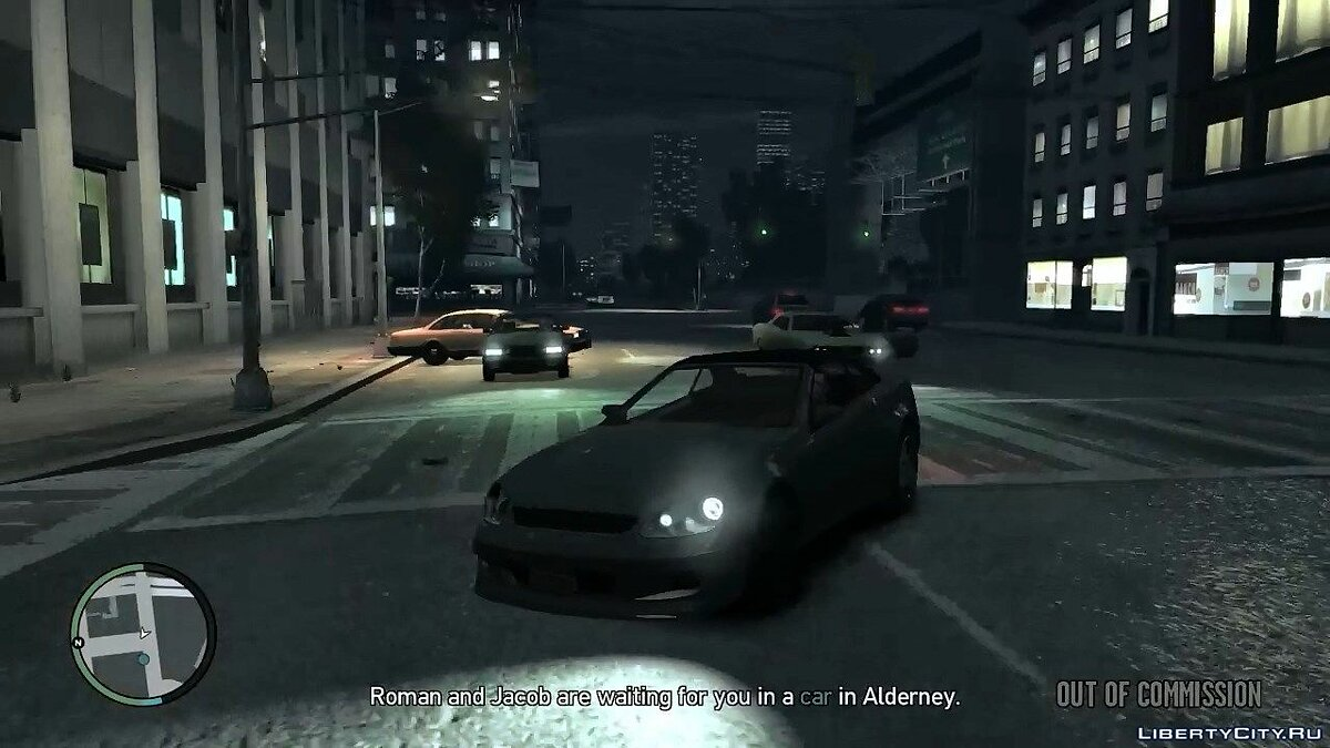 Gameplay video Out Of Commission (All Possibilities) for GTA 4