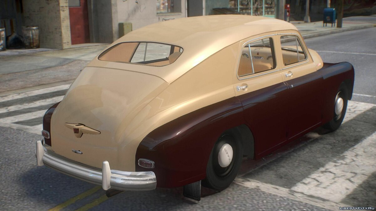 GAZ car GAZ M20 Victory for GTA 4