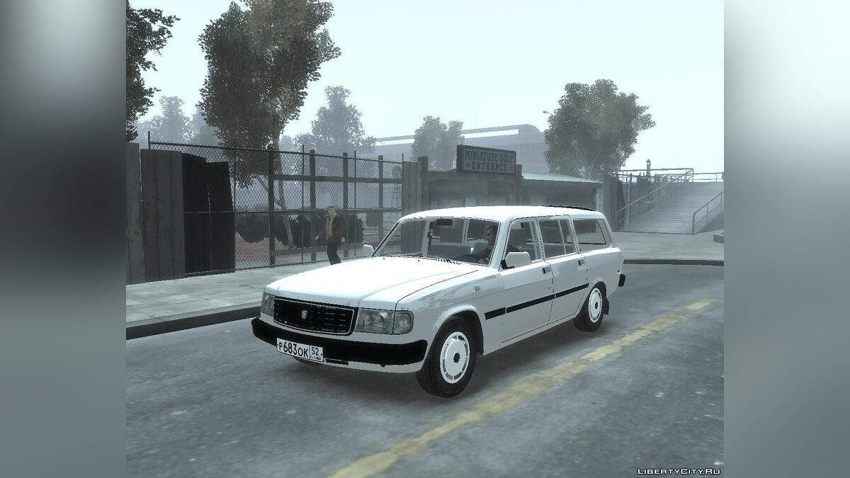 GAZ car GAS 31022 for GTA 4
