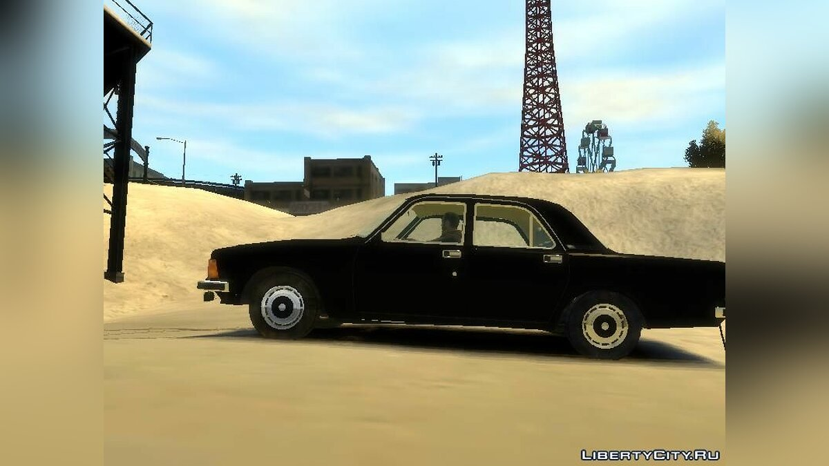 GAZ car GAZ-3102 for GTA 4