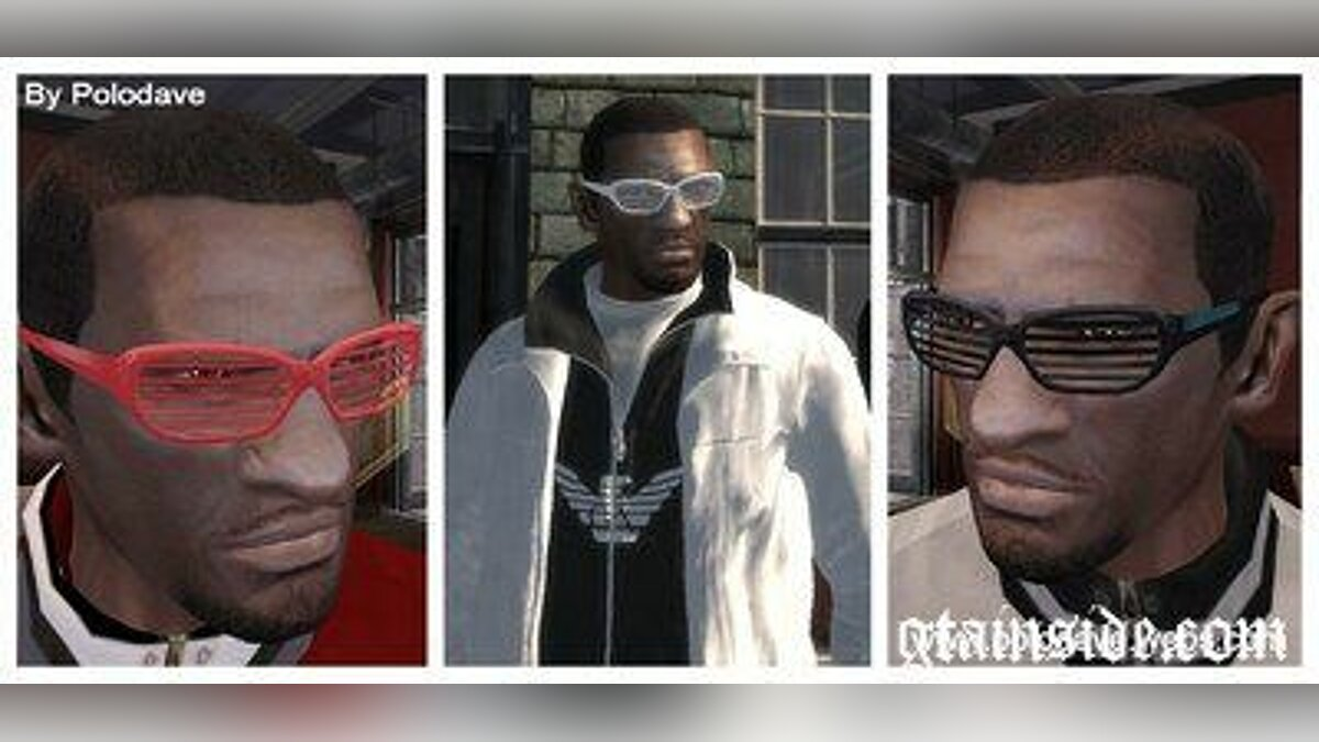 Glasses Kanye West's Glasses for GTA 4