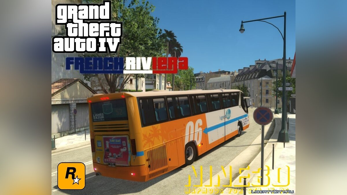 Global mod French Riviera for GTA 4