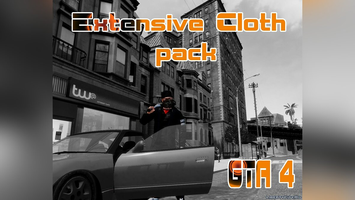 Global mod Extensive cloth pack for Niko for GTA 4
