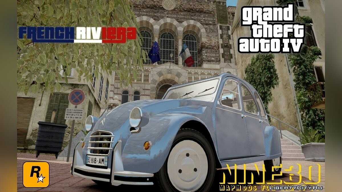 Global mod French Riviera Update 1.1 for GTA 4