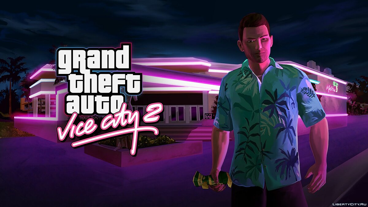 Global mod Grand Theft Auto: Vice City 2 (update 0.1) for GTA 4
