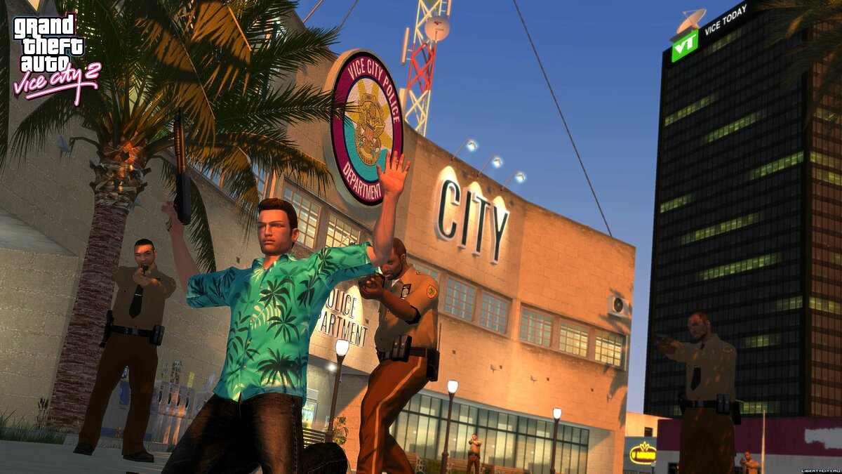 Global mod Grand Theft Auto: Vice City 2 for GTA 4