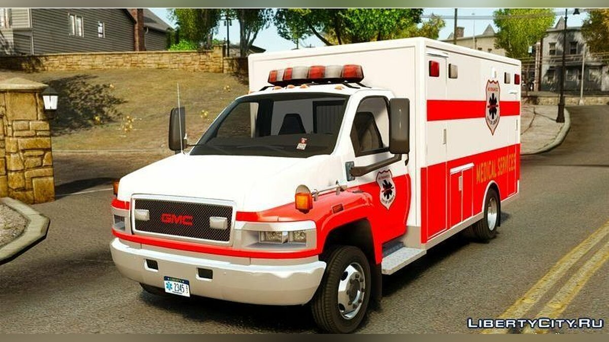 GMC car GMC C5500 Topkick Ambulance for GTA 4