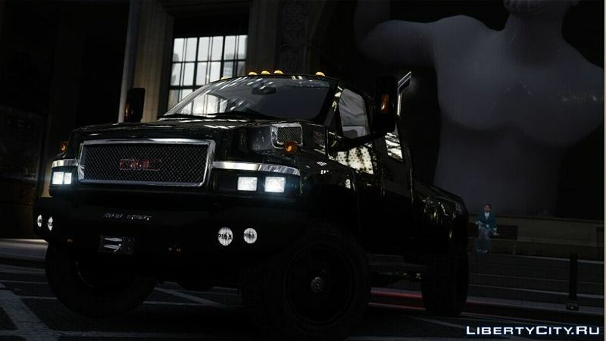 GMC car GMC Topkick C4500 for GTA 4