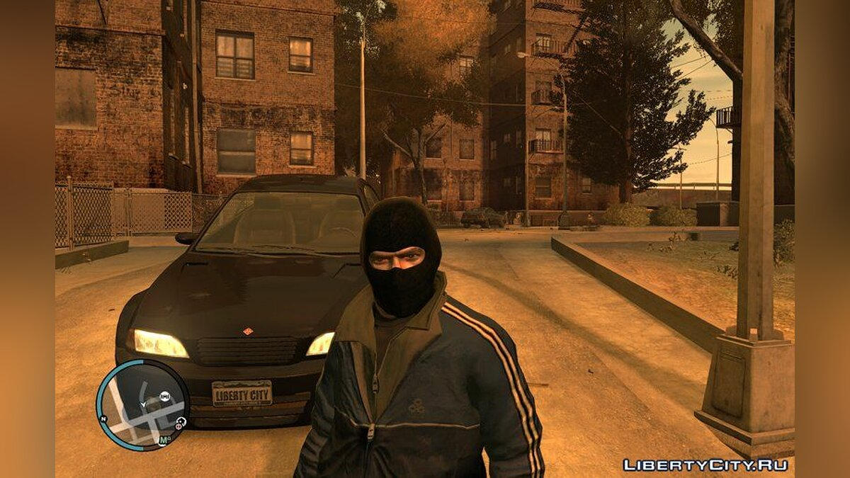 Hats Black Balaclava for Niko for GTA 4