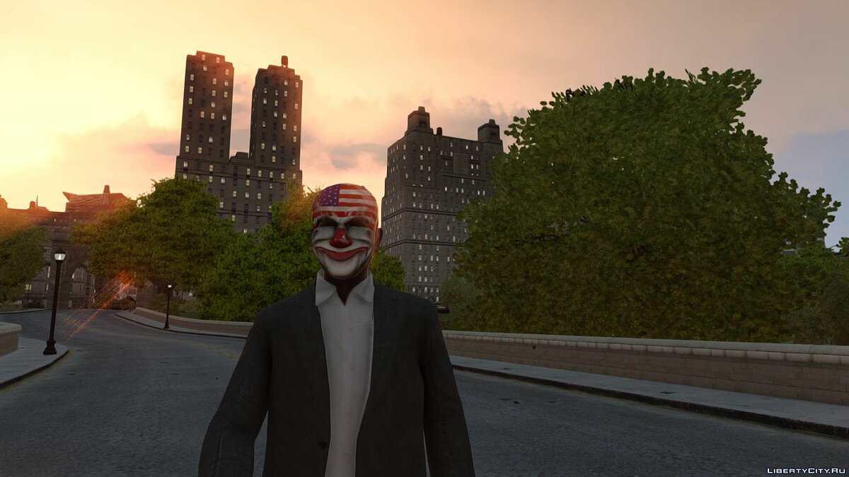 Hats [PAYDAY] Dallas mask for GTA 4