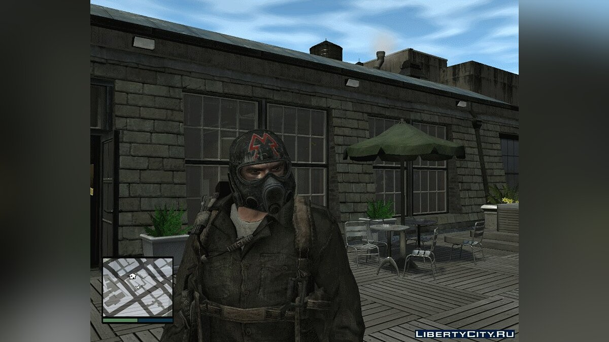 Hats Metro 2034/2033 helmet for GTA 4
