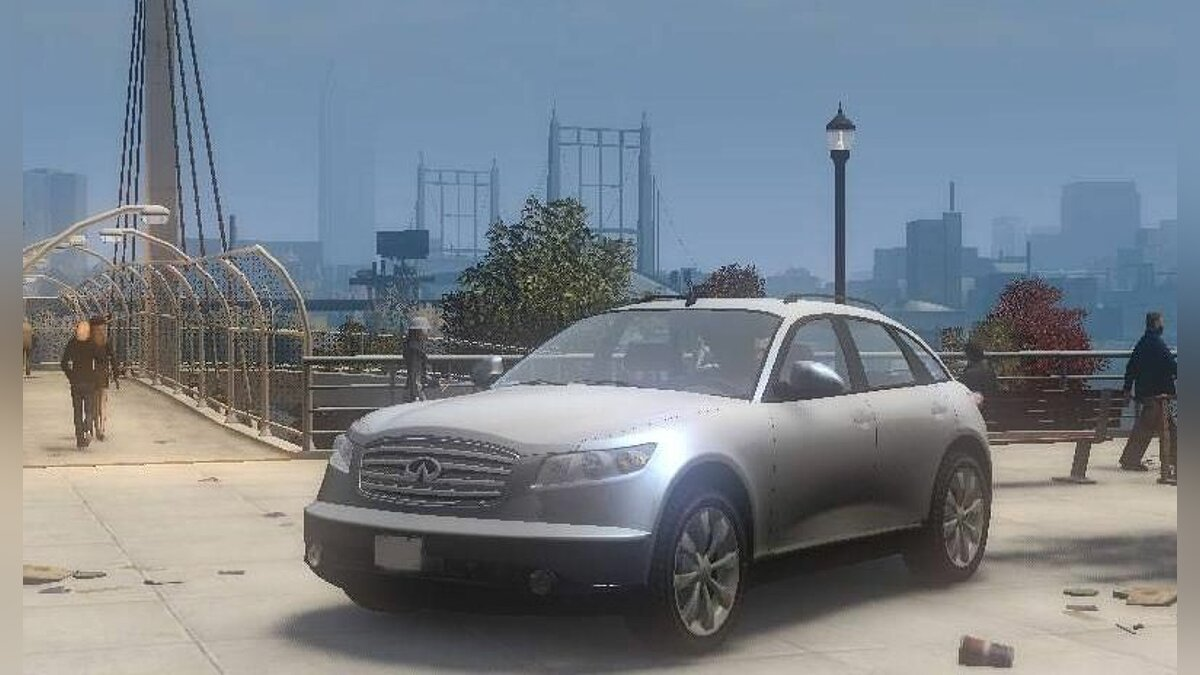 Infinity car Infiniti FX45 for GTA 4