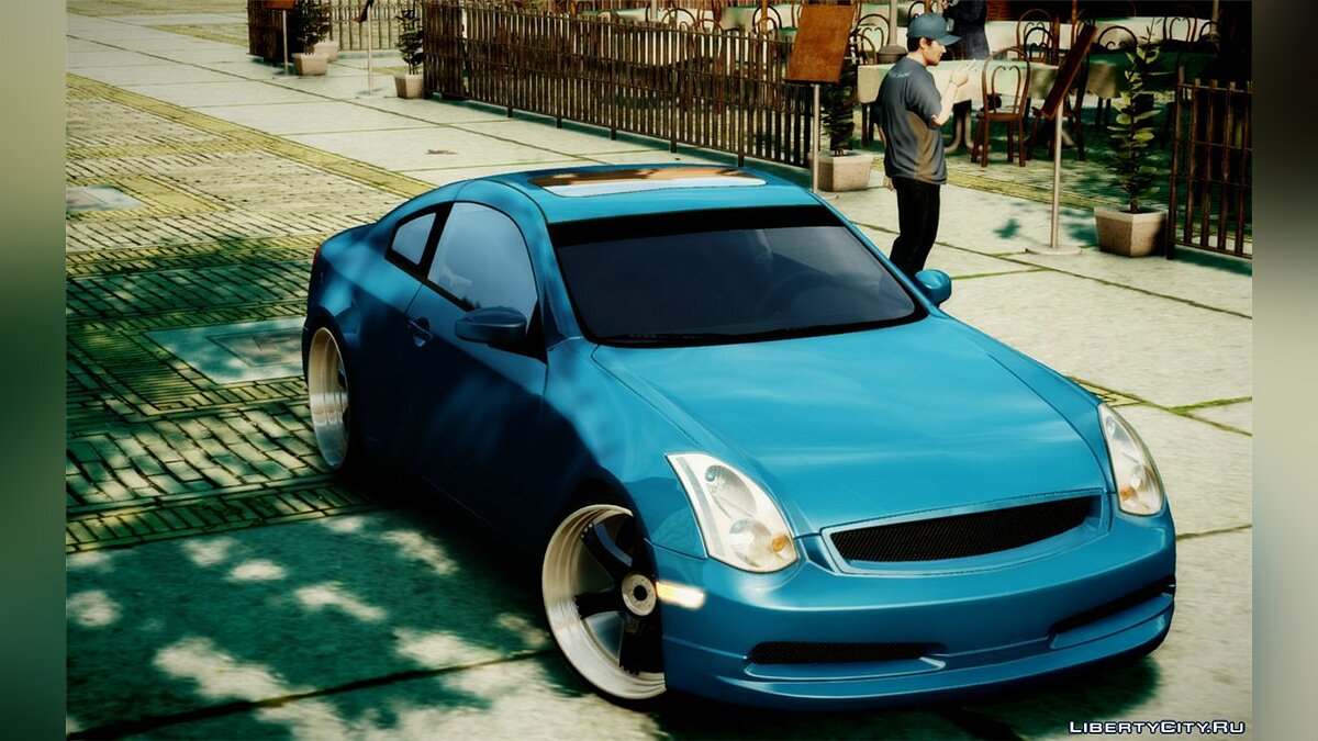 Infinity car 2003 Infiniti G35 Coupe JDM Tune [beta] for GTA 4