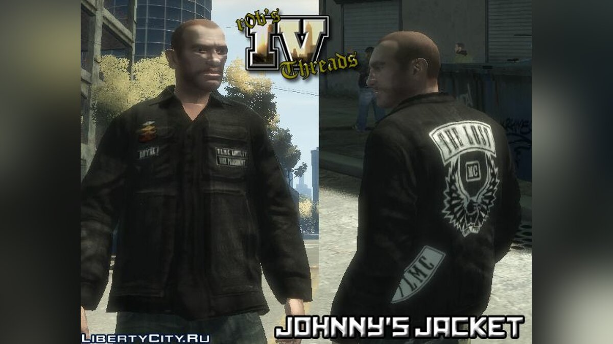 Johnnys Jacket for Niko for GTA 4 - Картинка #1