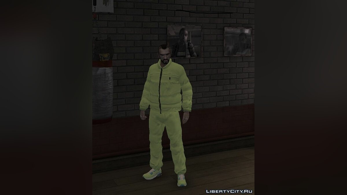Jackets or suits Tracksuit for Niko for GTA 4