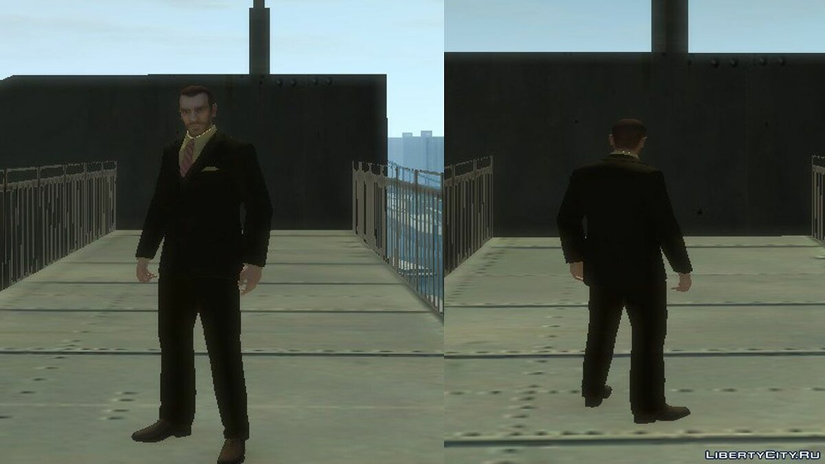 Jackets or suits Multiplayer costumes set for GTA 4