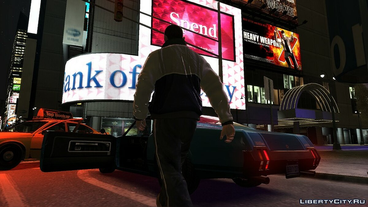 Jackets or suits White jacket for GTA 4