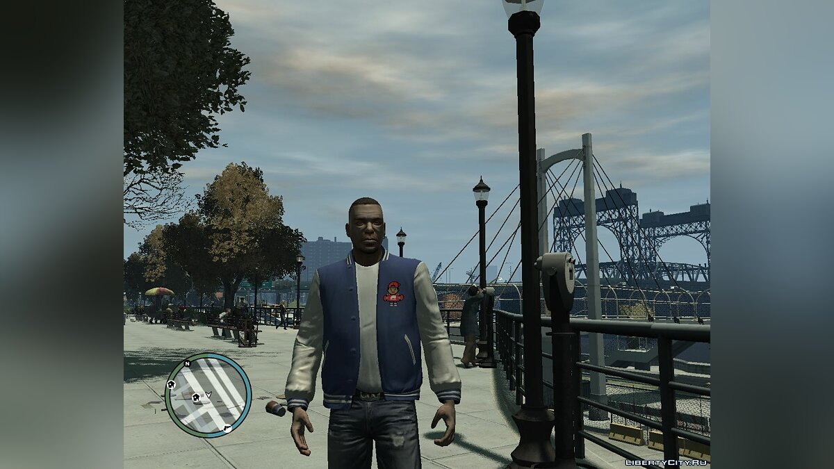 Jackets or suits Luis trukfit jacket for GTA 4