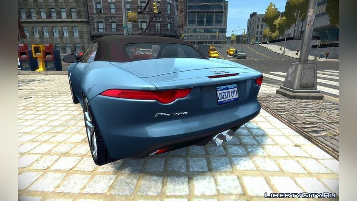 Jaguar car 2014 Jaguar F-Type [EPM] for GTA 4