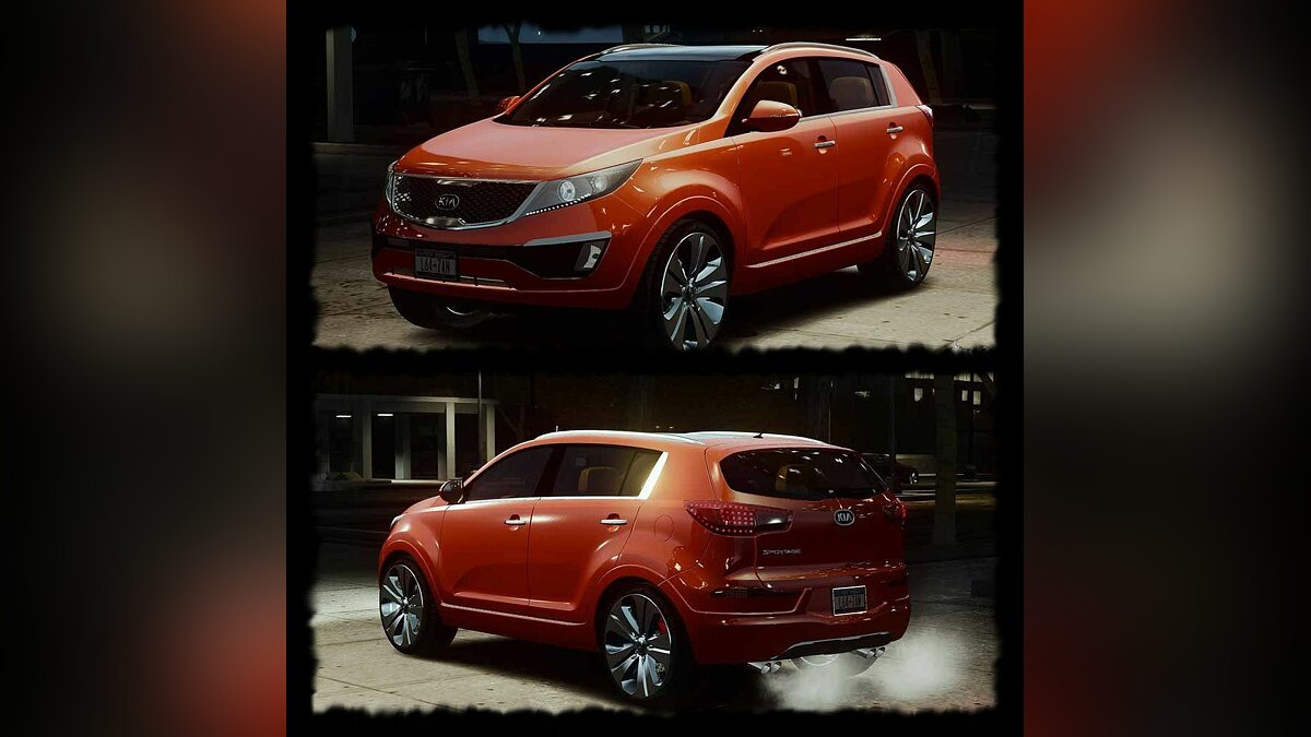 Kia car KIA Sportage 2010 Stock Final for GTA 4
