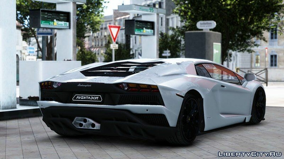 Lamborghini car 2018 Lamborghini Aventador S [EPM] for GTA 4