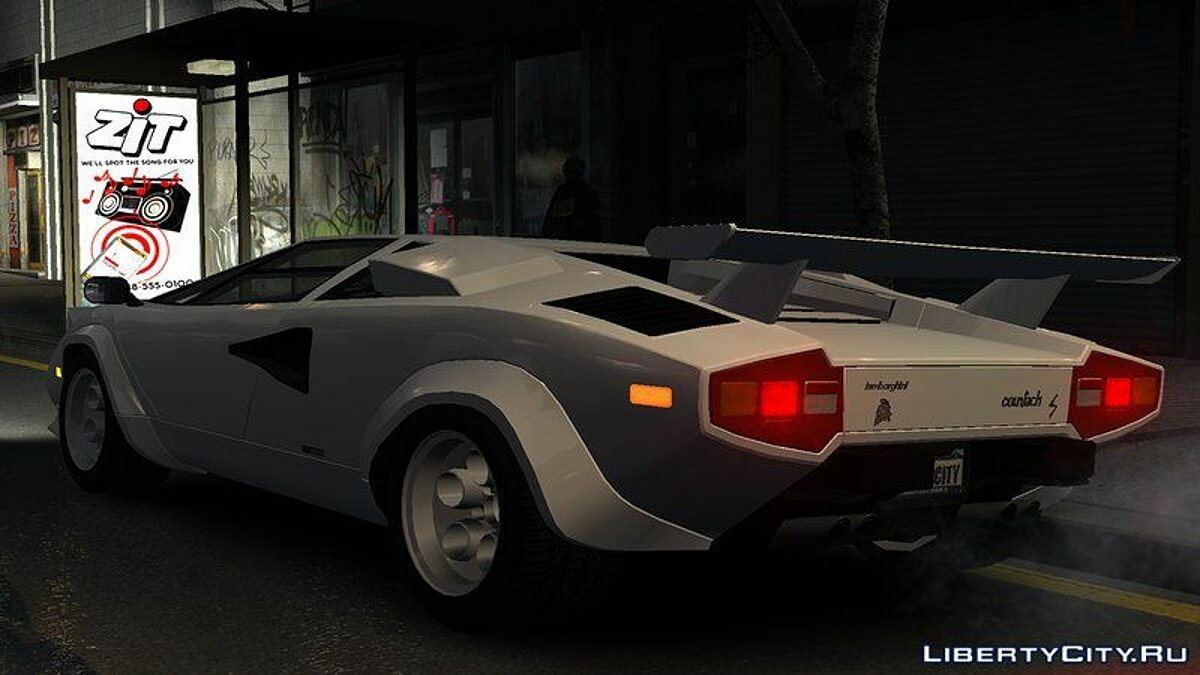 Lamborghini car 1978 Lamborghini Countach LP400 S v1.0 for GTA 4