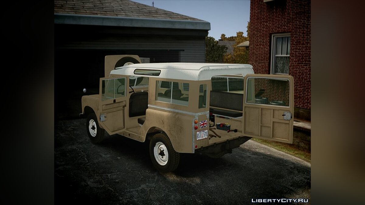 Land Rover car 1960 Land Rover Series II 2.0 FIXED for GTA 4