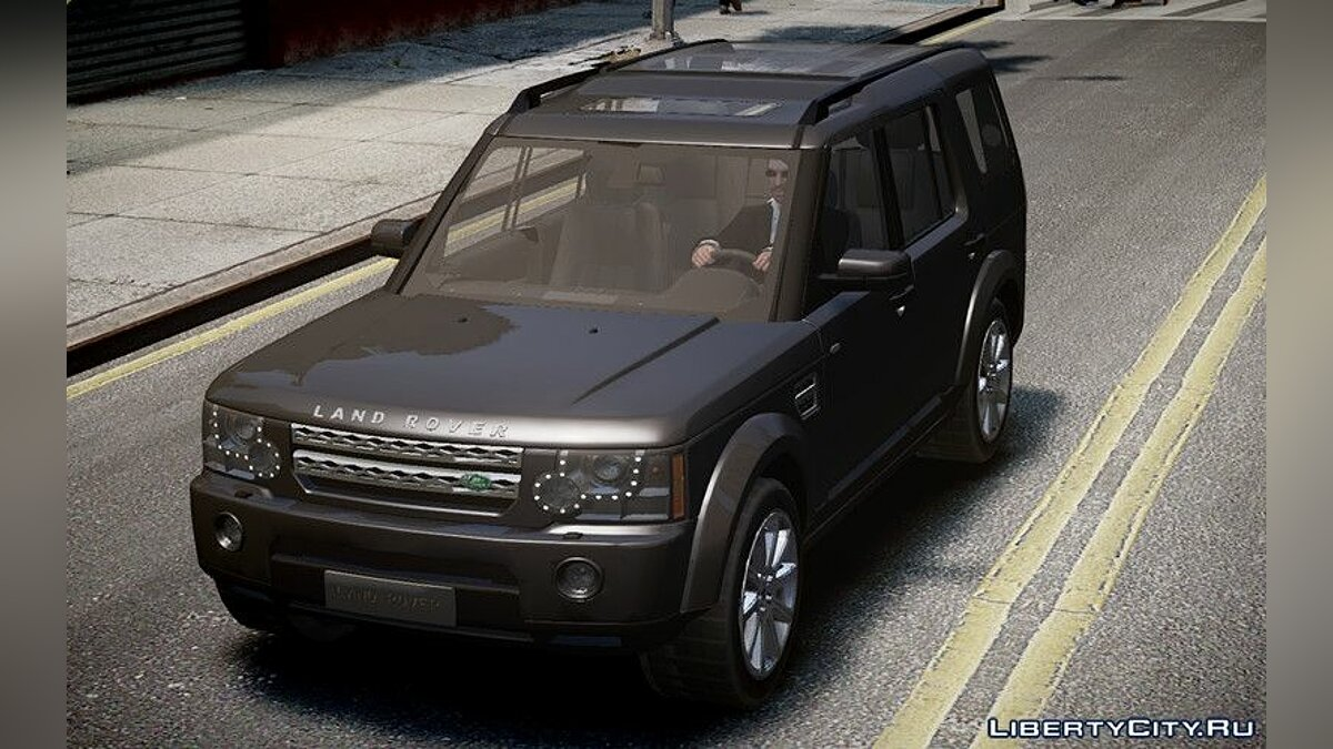 Land Rover car Land Rover Discovery 4 2013 for GTA 4