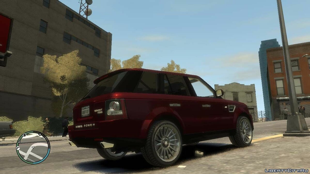 Land Rover car 2008 Range Rover Sport v.1.0 for GTA 4