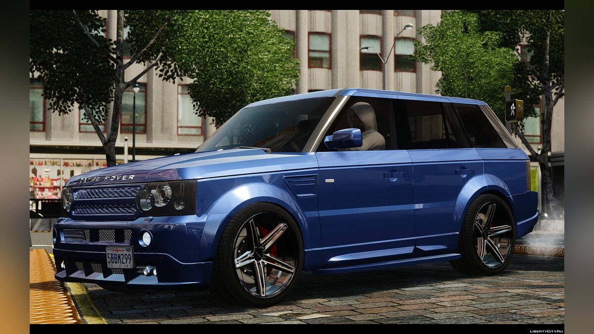 Land Rover car Range Rover Sport Kahn Tuning 2010 for GTA 4