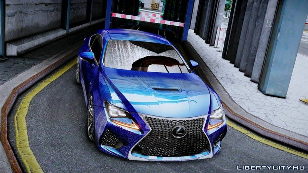 Lexus car Lexus RC F for GTA 4