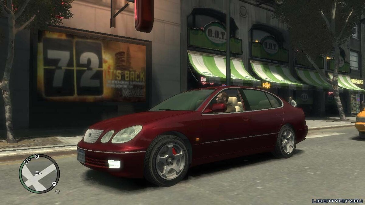 Lexus car 1998 Lexus GS 300 for GTA 4
